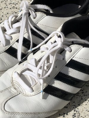 Adidas Lace-Up Sneaker white-black leather