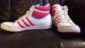 Adidas Sneaker weiß pink 39 1/3