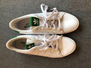 adidas stan smith Sneaker stringata bianco-verde bosco