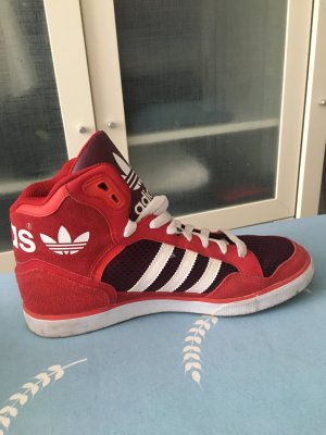 Adidas sneakers rot Gr 40