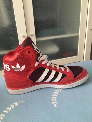 Adidas Basket montante rouge-rouge foncé
