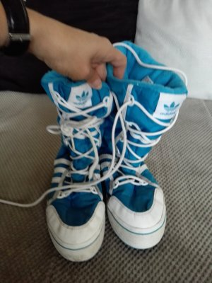 Adidas Originals Bottes de neige turquoise