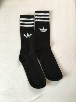 Adidas Legwarmers black-white cotton
