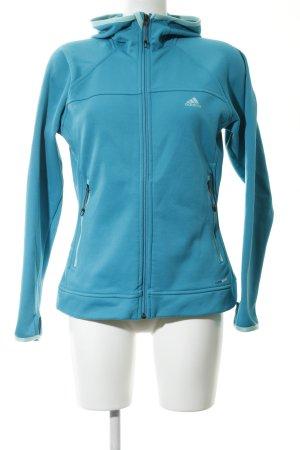 Adidas Softshelljacke blau Casual-Look