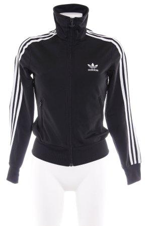 Adidas Chaqueta softshell negro estilo deportivo