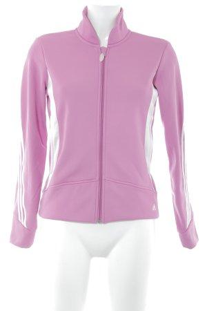 Adidas Softshelljacke Streifenmuster sportlicher Stil