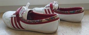Adidas Sneaker bianco-rosso