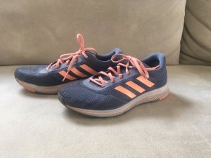 Adidas Lace-Up Sneaker blue-salmon