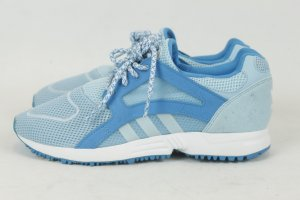 Adidas Lace-Up Sneaker neon blue-baby blue synthetic material