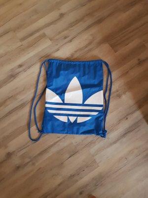 Adidas Bolsa de gimnasio blanco-azul