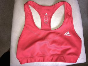 Adidas Top deportivo sin mangas rojo claro-rojo ladrillo