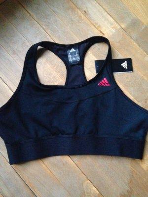 Adidas Originals Débardeur de sport noir-rouge