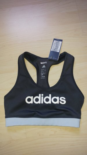 Adidas Sporttop donkergrijs