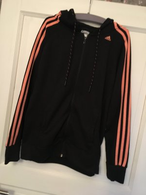 Adidas Sport Essentials Jacke schwarz orange Gr. M