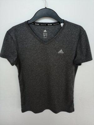 Adidas Sport-/Funktionsshirt dunkelgrau (S)