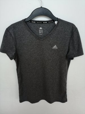 Adidas Sportshirt donkergrijs