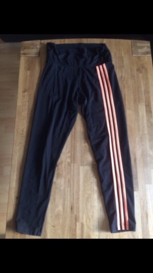 Adidas Originals Sportbroek zwart-neonoranje