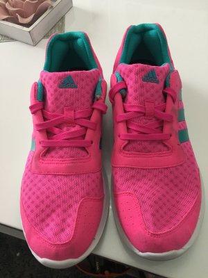Adidas Basket rose-turquoise