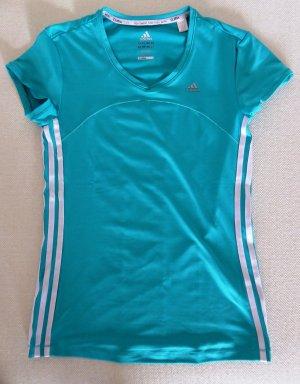 adidas Sport-Shirt in Türkis