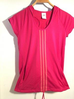 Adidas Sport Shirt pink/ magenta Größe S
