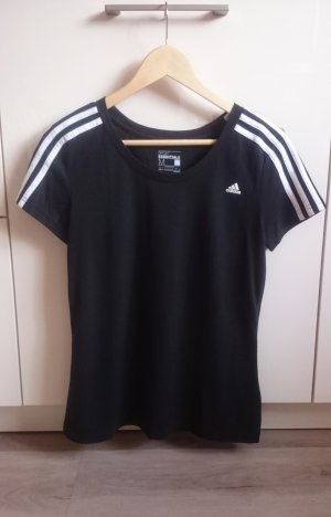 Adidas Sport Shirt schwarz Gr. M