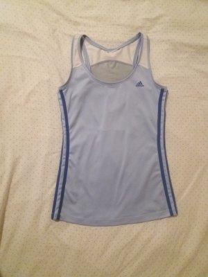 Adidas Maglietta sport azzurro