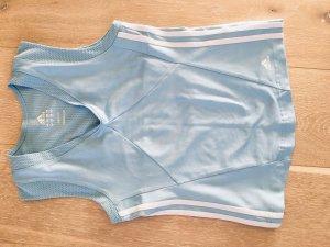 Adidas Sporttop azuur-babyblauw