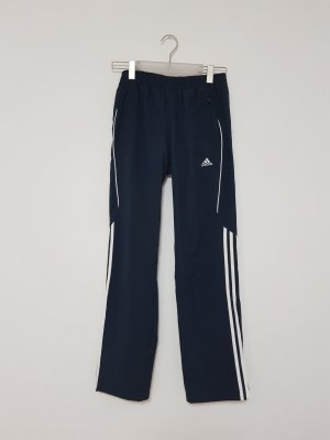 Adidas Sport und Freizeithose Blogger blau weiß