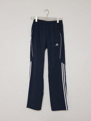 Adidas Pantalon blanc-bleu