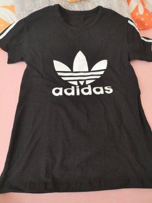 Adidas Trackies white-black cotton