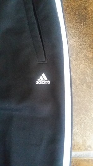 Adidas Sportanzug schwarz weiss