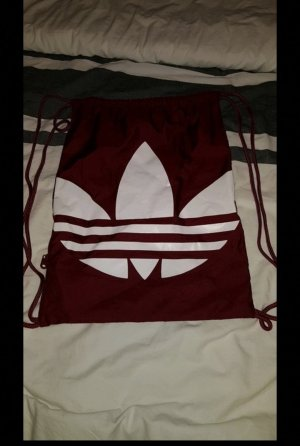 Adidas Originals Shoulder Bag white-dark red