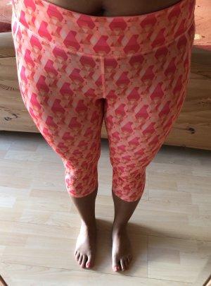Adidas pantalonera naranja-rojo frambuesa