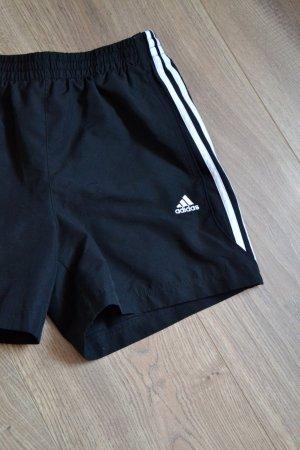 Adidas Pantaloncino sport nero-bianco