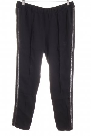 Adidas Sportbroek zwart atletische stijl
