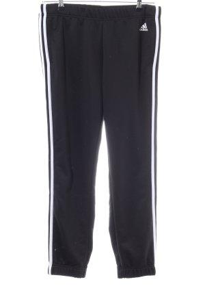 Adidas Sporthose weiß Streifenmuster sportlicher Stil