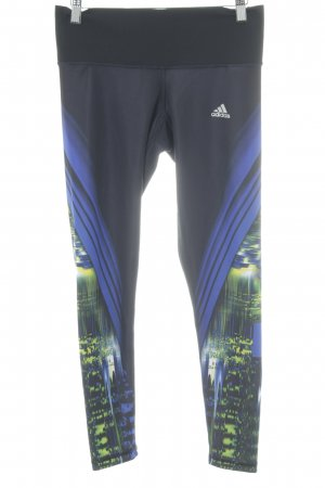 Adidas Sporthose abstraktes Muster sportlicher Stil