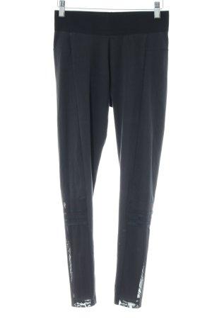 Adidas Pantalon de sport gris anthracite-noir style décontracté