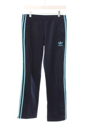 Adidas Sporthose dunkelblau-hellblau Logostickerei