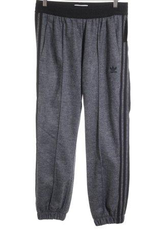 Adidas Sporthose grau-schwarz Casual-Look