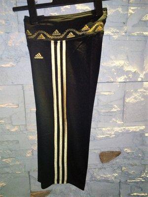 ADIDAS Sporthose in gr 38/40 Farbe Schwarz Gold