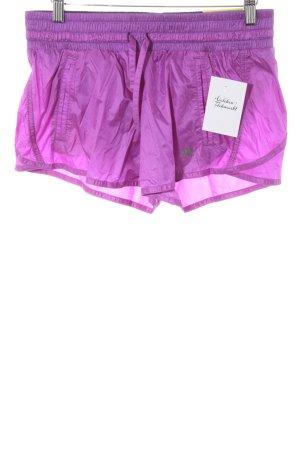 Adidas Sporthose lila Casual-Look