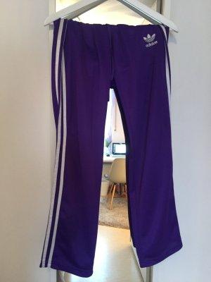 Adidas Sporthose lila Größe S
