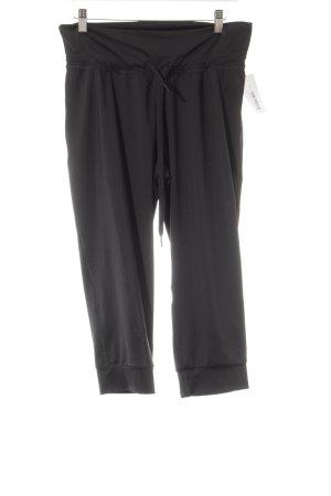 Adidas Sporthose schwarz-magenta Casual-Look