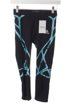 Adidas Sporthose schwarz-türkis sportlicher Stil