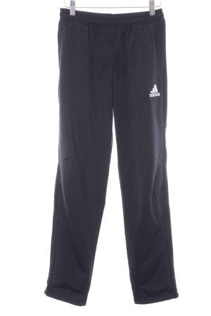 Adidas Sporthose schwarz-weiß sportlicher Stil