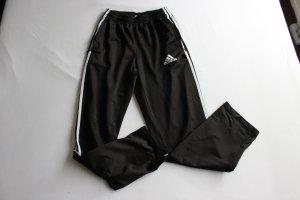 Adidas Sporthose Sweathose Trainingshose Schwarz weiss Vintage