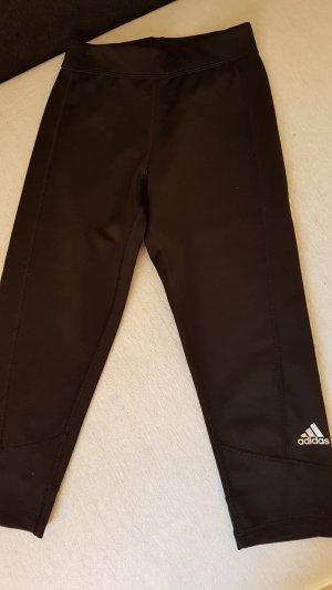 Adidas Pantalone da ginnastica nero Tessuto misto