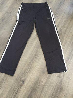 Adidas Sportbroek zwart-zilver