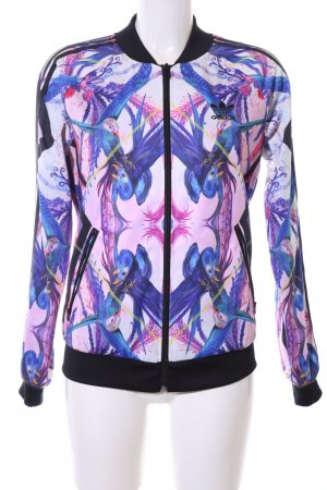 Adidas Sports Jacket abstract pattern casual look